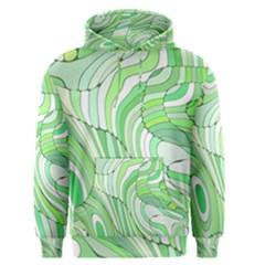 Retro Abstract Green Men s Pullover Hoodies