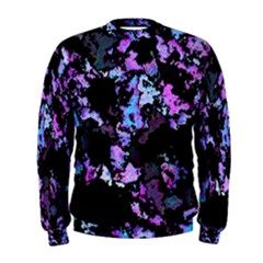 Splatter Blue Pink Men s Sweatshirts