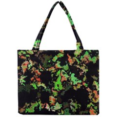 Splatter Red Green Tiny Tote Bags