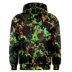 Splatter Red Green Men s Pullover Hoodies