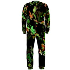 Splatter Red Green OnePiece Jumpsuit (Men)