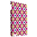 Honeycomb in rhombus pattern Apple iPad 3/4 Hardshell Case View2