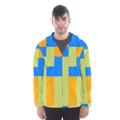 Tetris shapes Mesh Lined Wind Breaker (Men)