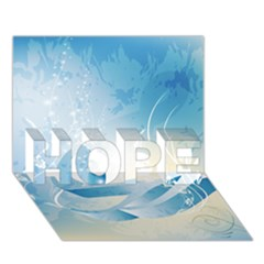 Music Hope 3d Greeting Card (7x5)