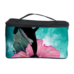 Orca Jumping Out Of A Flower With Waterfalls Cosmetic Storage Cases