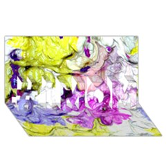 Strange Abstract 2 Soft #1 MOM 3D Greeting Cards (8x4)