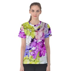 Strange Abstract 2 Soft Women s Cotton Tees