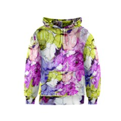Strange Abstract 2 Soft Kids Zipper Hoodies