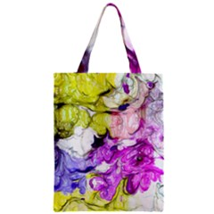 Strange Abstract 2 Soft Zipper Classic Tote Bags