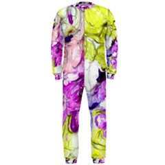 Strange Abstract 2 Soft OnePiece Jumpsuit (Men)