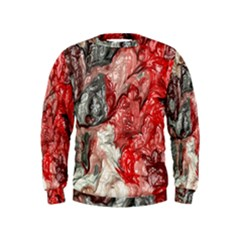 Strange Abstract 3 Boys  Sweatshirts