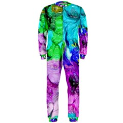 Strange Abstract 4 OnePiece Jumpsuit (Men)