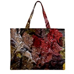 Strange Abstract 5 Zipper Tiny Tote Bags