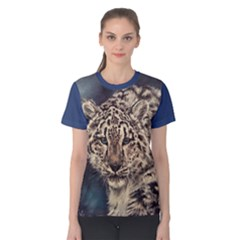 Snow Leopard Women s Cotton Tee