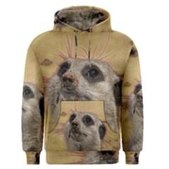 Meerkat 2 Men s Pullover Hoodies