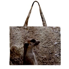 Adorable Meerkat Zipper Tiny Tote Bags