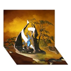 The Forgotten World In The Sky Ribbon 3D Greeting Card (7x5)