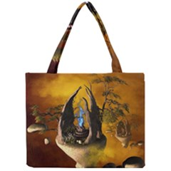 The Forgotten World In The Sky Tiny Tote Bags