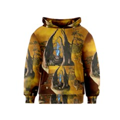 The Forgotten World In The Sky Kid s Pullover Hoodies