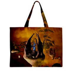 The Forgotten World In The Sky Zipper Tiny Tote Bags
