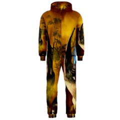 The Forgotten World In The Sky Hooded Jumpsuit (Men)