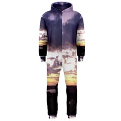 Sunset Over The Valley Hooded Jumpsuit (Men)