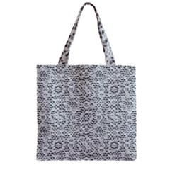 Bridal Lace Zipper Grocery Tote Bags
