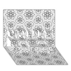 Bridal Lace 2 YOU ARE INVITED 3D Greeting Card (7x5)