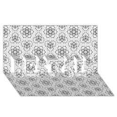 Bridal Lace 2 BEST SIS 3D Greeting Card (8x4)