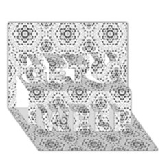 Bridal Lace 2 Get Well 3d Greeting Card (7x5)