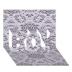 Bridal Lace 3 Boy 3d Greeting Card (7x5)