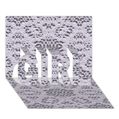 Bridal Lace 3 Girl 3d Greeting Card (7x5)