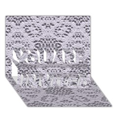Bridal Lace 3 You Are Invited 3d Greeting Card (7x5)