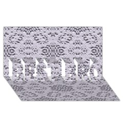 Bridal Lace 3 BEST BRO 3D Greeting Card (8x4)