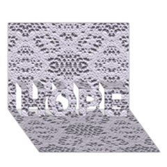Bridal Lace 3 HOPE 3D Greeting Card (7x5)