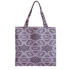 Bridal Lace 3 Zipper Grocery Tote Bags