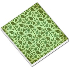 Vintage Paisley Green Small Memo Pads