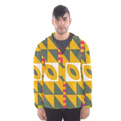 Shapes in a mirror Mesh Lined Wind Breaker (Men)