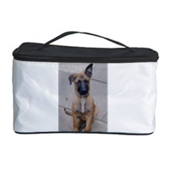 Malinois Puppy Sitting Cosmetic Storage Cases