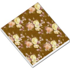 Vintage Roses Golden Small Memo Pads