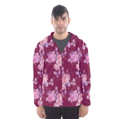 Vintage Roses Mesh Lined Wind Breaker (Men)