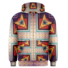 Cross And Other Shapes Men s Zipper Hoodie