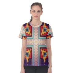 Cross and other shapes Women s Cotton Tee