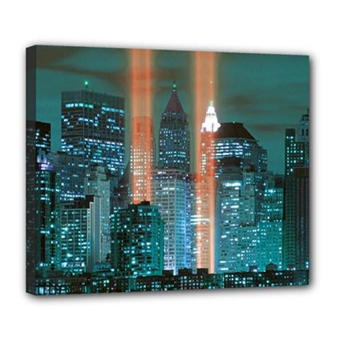 New York 2014 1206 Deluxe Canvas 24  x 20