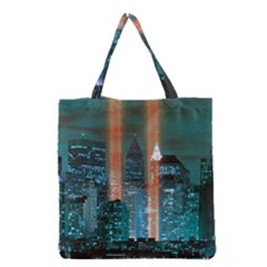 New York 2014 1206 Grocery Tote Bags