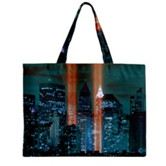 New York 2014 1206 Zipper Tiny Tote Bags