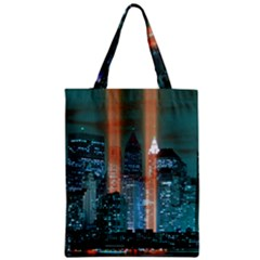 New York 2014 1206 Zipper Classic Tote Bags