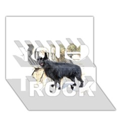 Belgian Shepherd Dog (groenendael) Full You Rock 3D Greeting Card (7x5)