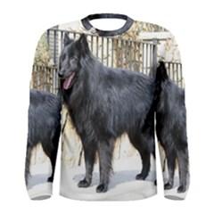 Belgian Shepherd Dog (groenendael) Full Men s Long Sleeve T-shirts