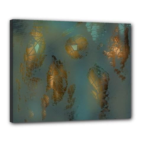 Broken Pieces Canvas 20  X 16
